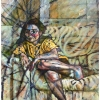 oil-painting-by-george-scicluna-composition-with-a-girl-no-12