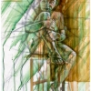 oil-painting-by-george-scicluna-composition-with-a-girl-no-15