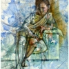 oil-painting-by-george-scicluna-composition-with-a-girl-no-16