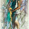 oil-painting-by-george-scicluna-composition-with-a-girl-no-30