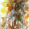 oil-painting-by-george-scicluna-composition-with-a-girl-no-39