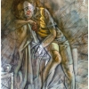 oil-painting-by-george-scicluna-composition-with-a-girl