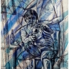 self-portrait-with-an-apple-by-contemporary-artist-george-scicluna-gozo