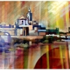 cittadella-modern-oil-painting-by-george-scicluna