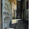Gozo streetscape by George Scicluna